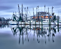 Apalachicola Florida Sunrise Commercial Fishing Marina 5
